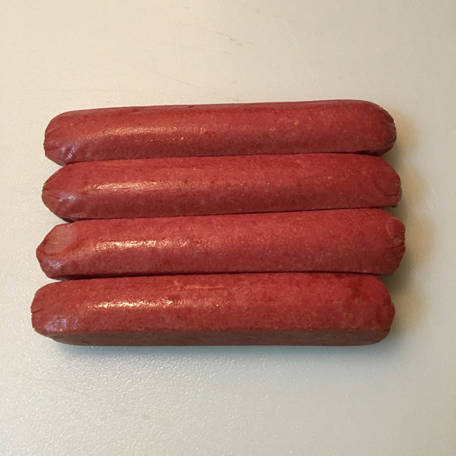 Bison Hotdogs
